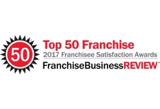 Top Franchise for the Franchise Satisfaction Award in 2017