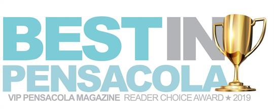 Best In Pensacola Reader Choice Award 2019